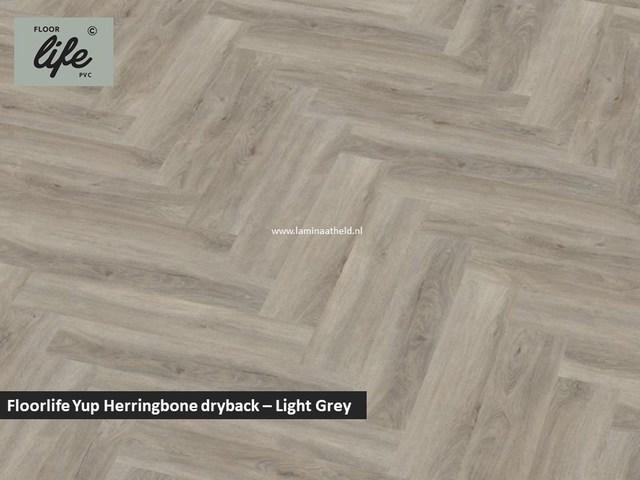 Floorlife Yup dryback pvc - Light Grey