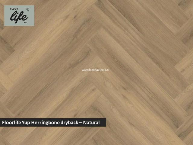 Floorlife Yup dryback pvc - Natural
