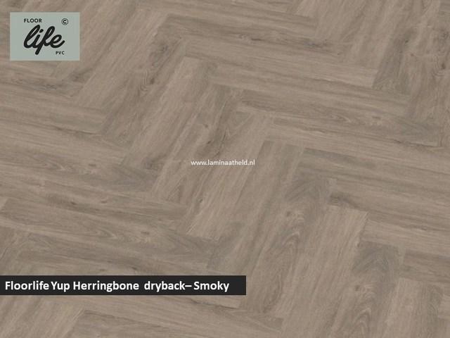 Floorlife Yup dryback pvc - Smoky