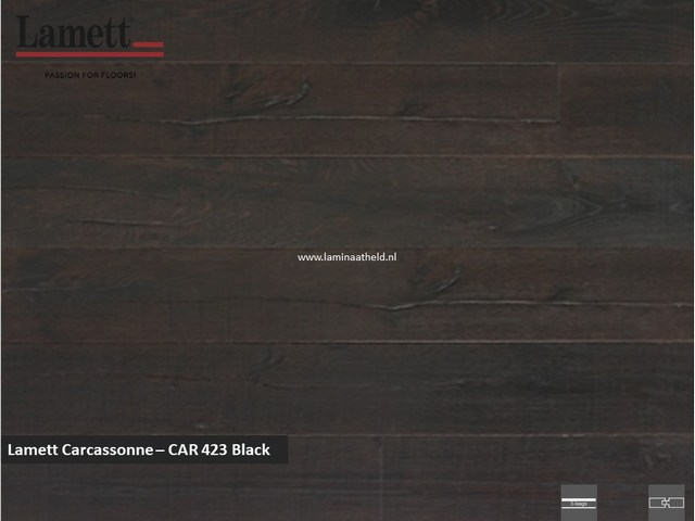 Lamett Carcassonne - Black CAR42