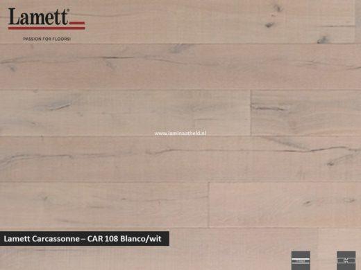 Lamett Carcassonne - Blanco/wit CAR108