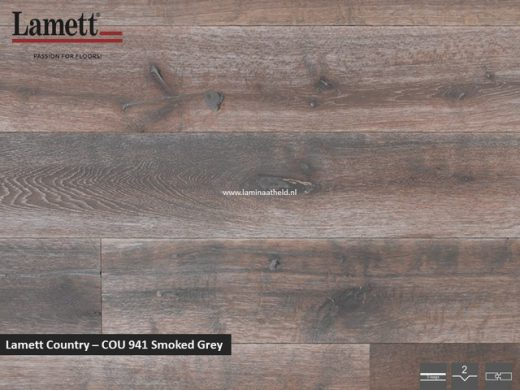 Lamett Country - Smoked Grey COU941