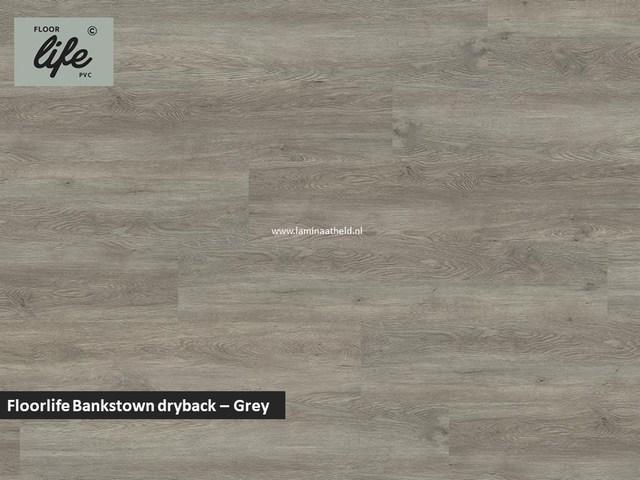Floorlife Bankstown dryback pvc - Grey