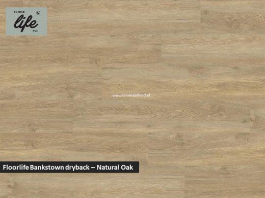 Floorlife Bankstown dryback pvc - Natural Oak