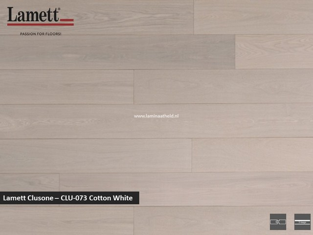 Lamett Clusone - Cotton White CLU073