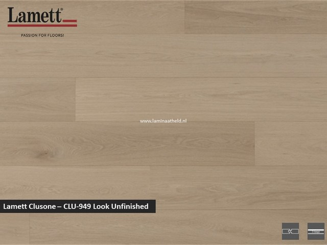 Lamett Clusone - Look Unfinished CLU949
