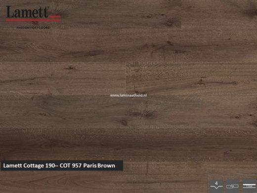 Lamett Cottage 190 - Paris Brown COT957