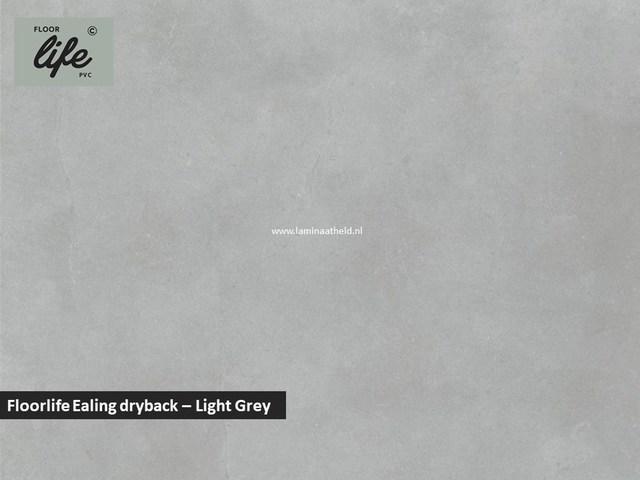 Floorlife Ealing dryback pvc - Light Grey