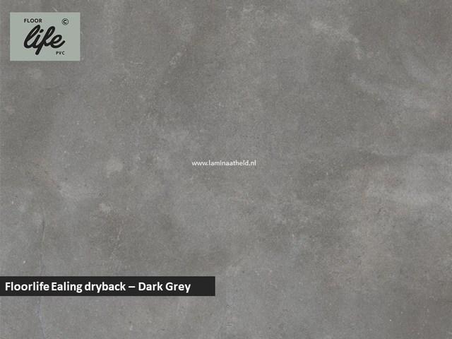 Floorlife Ealing dryback pvc - Dark Grey