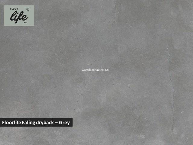 Floorlife Ealing dryback pvc - Grey
