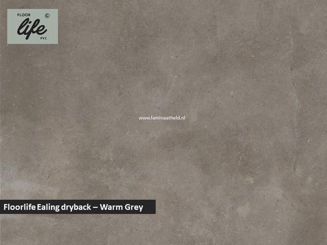 Floorlife Ealing dryback pvc - Warm Grey