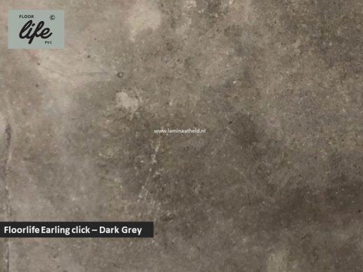 Floorlife Ealing click pvc - Dark grey