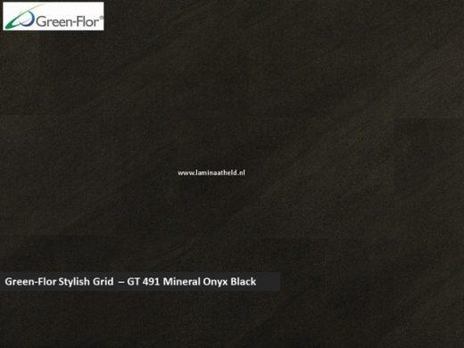 Green-Flor Stylish Grid - Mineral Onyx Black GT491