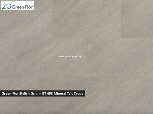 Green-Flor Stylish Grid - Mineral Talc taupe GT493
