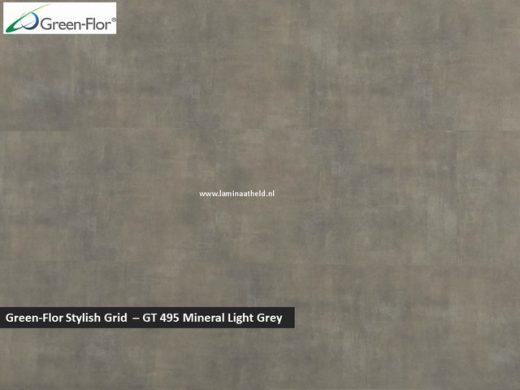 Green-Flor Stylish Grid - Mineral Light Grey GT495