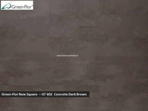 Green-Flor New Square - Concrete Dark Brown GT602