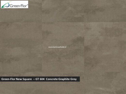 Green-Flor New Square - Concrete Graphite Grey GT604