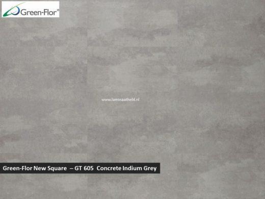 Green-Flor New Square - Concrete Indium Grey GT605