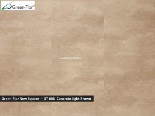 Green-Flor New Square - Concrete Light Brown GT606