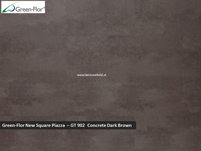 Green-Flor New Square Piazza - Concrete Dark Brown GT902