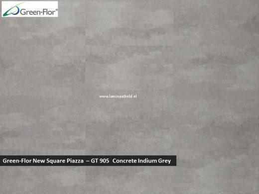 Green-Flor New Square Piazza - Concrete Indrium Grey GT905