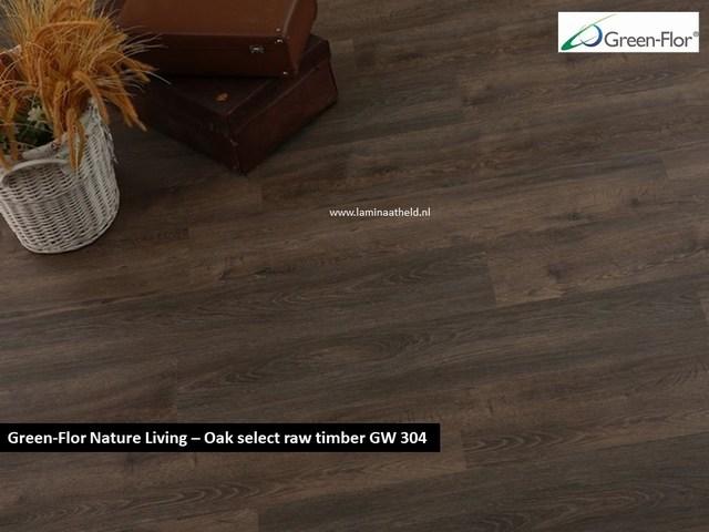 Green-Flor Nature Living - Oak privilege raw timber GW304