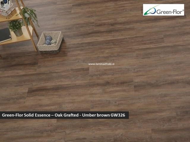 Green-Flor Master Solid Essence - Oak Grafted Umber brown GW326