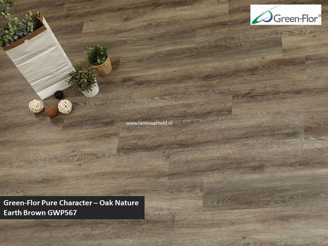 Green-Flor Pure Character - Oak Nature Earth brown GWP567