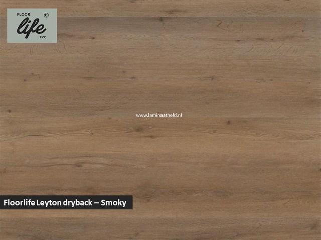 Floorlife Leyton dryback pvc - Smokey Oak