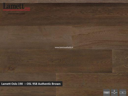 Lamett Oslo 190 - Authentic Brown OSL956