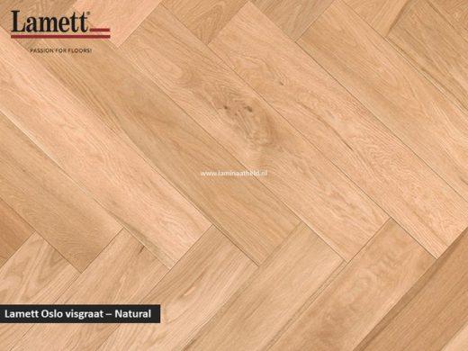 Lamett Oslo visgraat- Naturel OSL-HB110