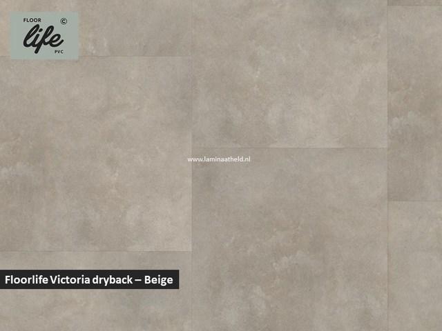 Floorlife Victoria dryback pvc - Beige