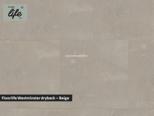 Floorlife Westminster dryback pvc - Beige