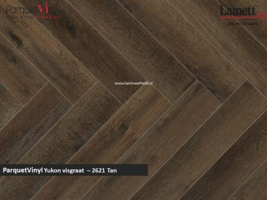 Lamett Parquetvinyl Yukon visgraat - Tan YUK2621
