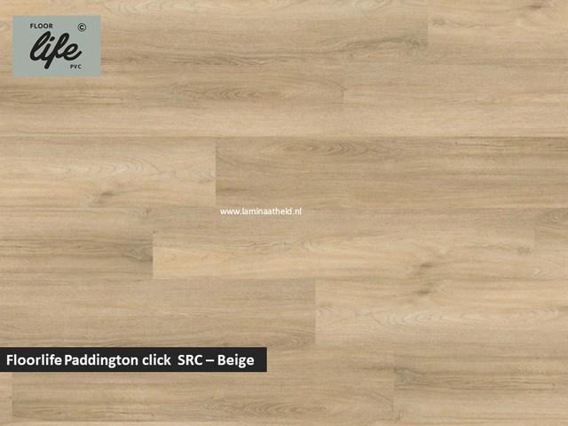 Floorlife Paddington click SRC pvc - Beige