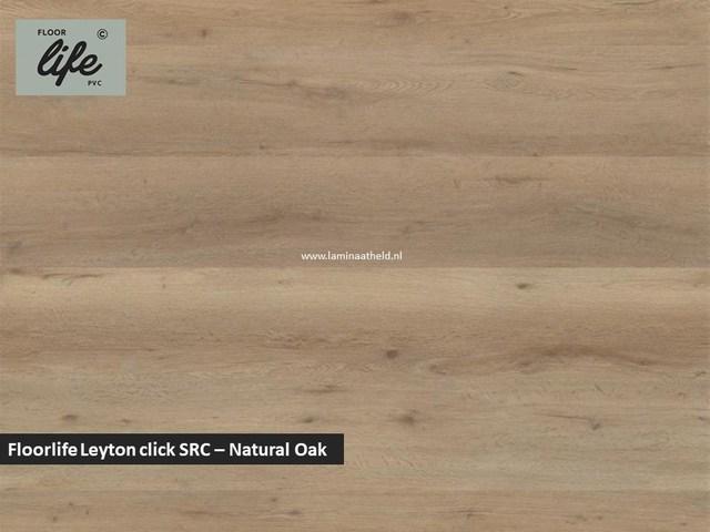 Floorlife Leyton click SRC pvc - Natural Oak