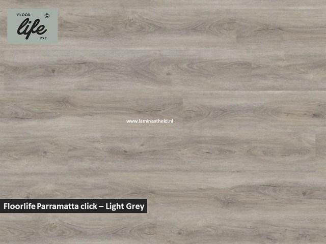 Floorlife Parramatta click SRC pvc - Light Grey