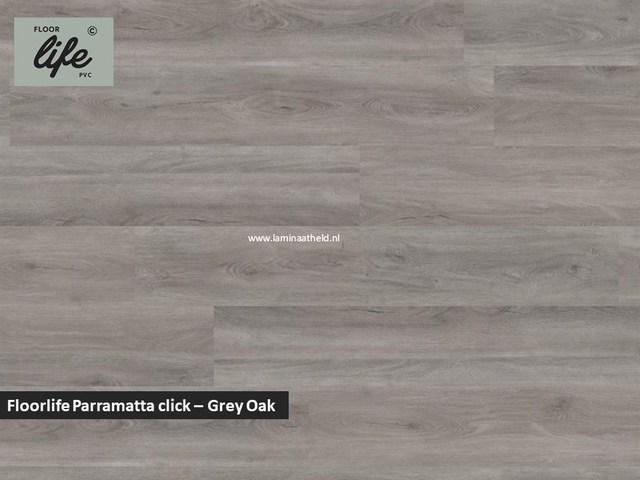 Floorlife Parramatta click SRC pvc - Grey Oak