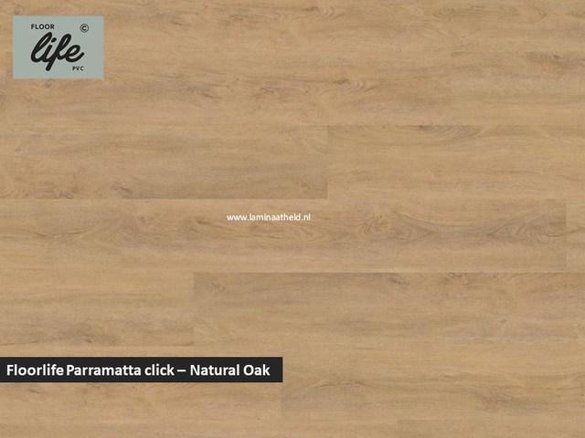 Floorlife Parramatta click SRC pvc - Natural Oak