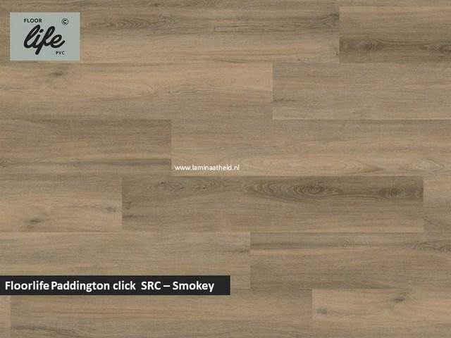 Floorlife Paddington click SRC pvc - Smokey