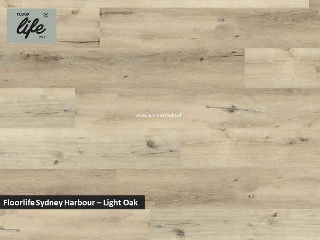 Floorlife Sydney Harbour click SRC pvc - Light Oak