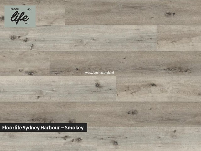 Floorlife Sydney Harbour click SRC pvc - Smoky