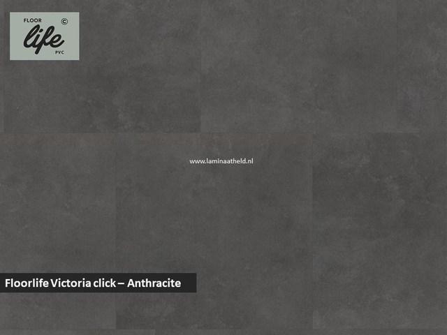 Floorlife Victoria click pvc - Antracite