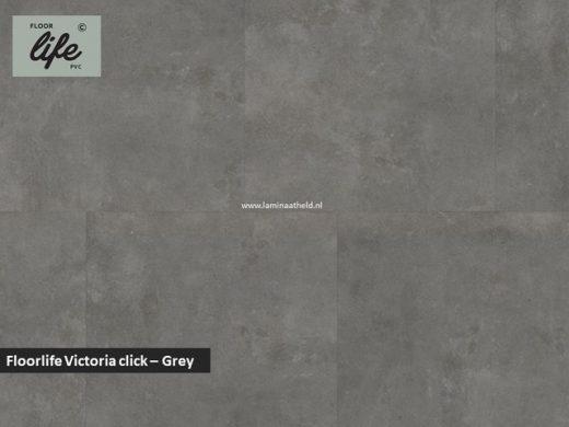 Floorlife Victoria click pvc - Grey