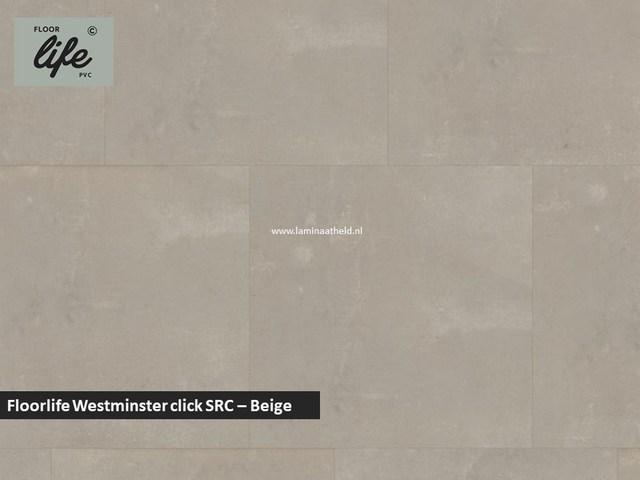Floorlife Westminster click pvc - Beige