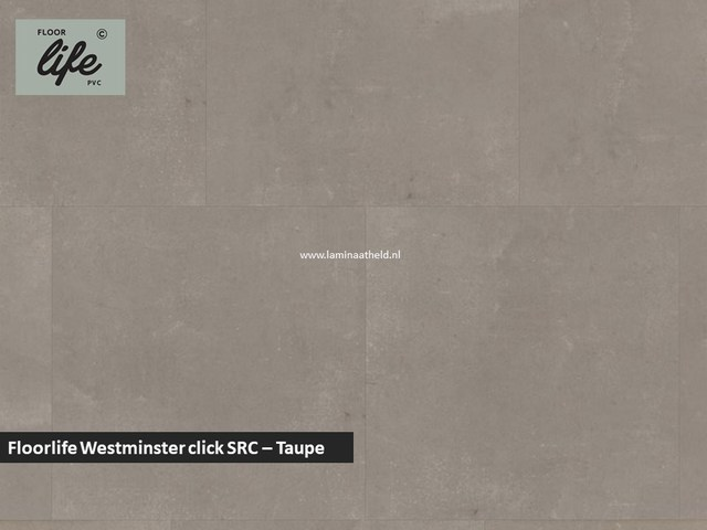 Floorlife Westminster click pvc - Taupe
