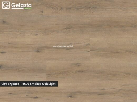 Gelasta City dryback - 4600 Smoked Oak Light