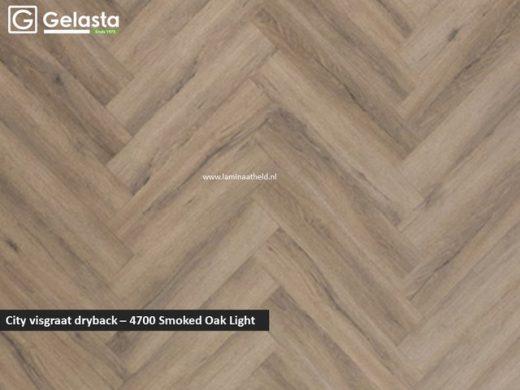 City dryback visgraat - 4700 Smoked Oak Light