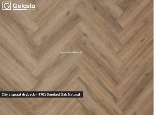City dryback visgraat - 4701 Smoked Oak Natural