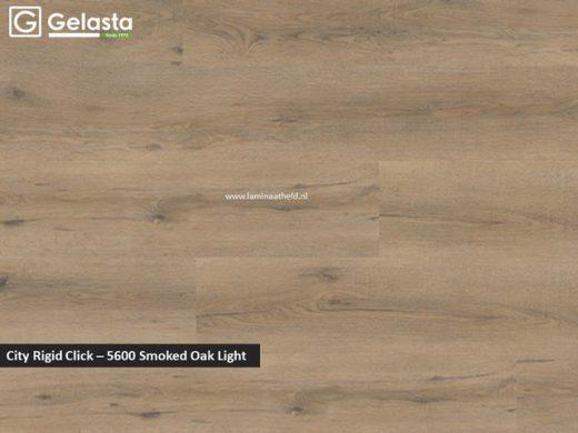 Gelasta City Rigid Click - 5600 Smoked Oak Light